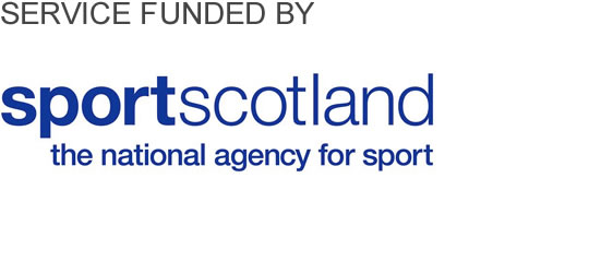Service funded by sportscotland