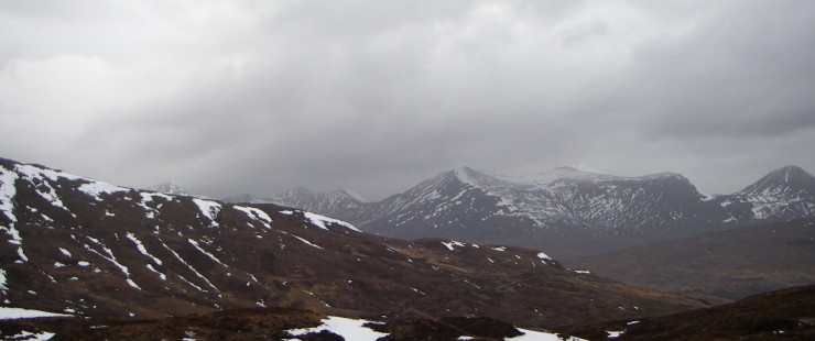 looking towards the Mamores