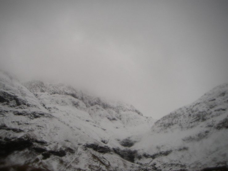 Coire nam Beith is up there somewhere!
