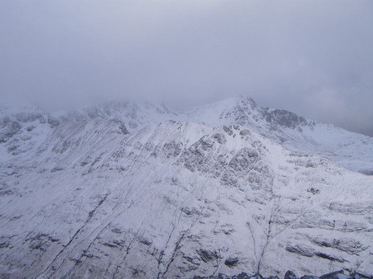 Looking over to Stob Coire nan Lochan