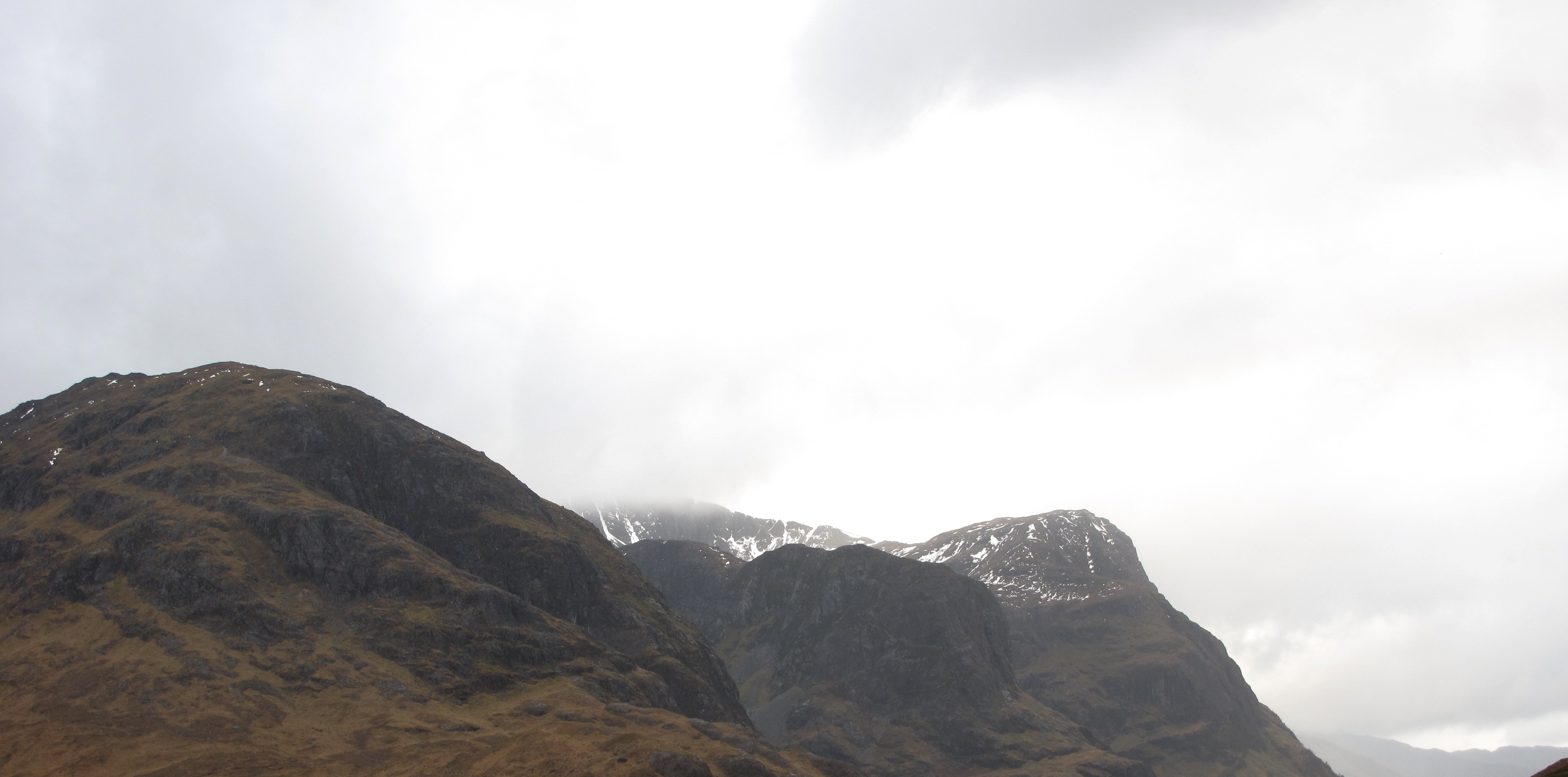 The 3 sisters of Glen Coe.