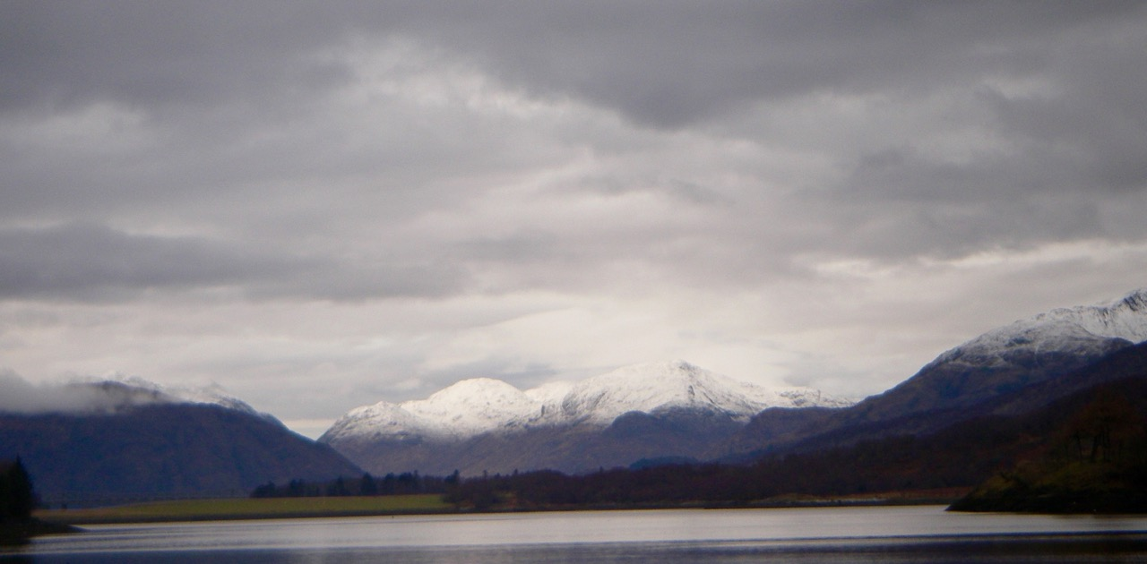 Loch Leven and the Ardgour hills