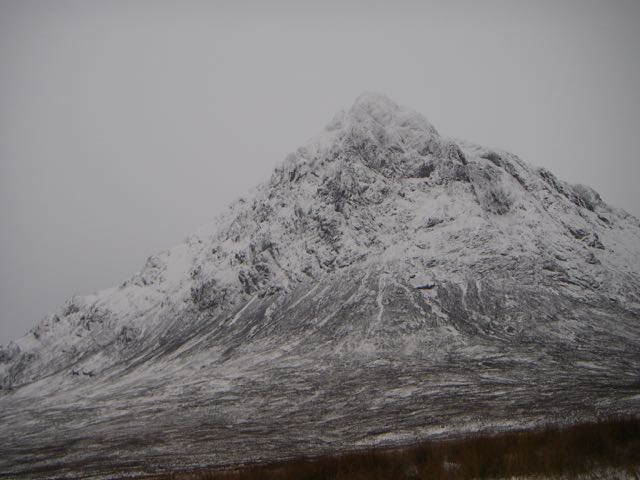 'The Buachaille' from Glen Etive road-end