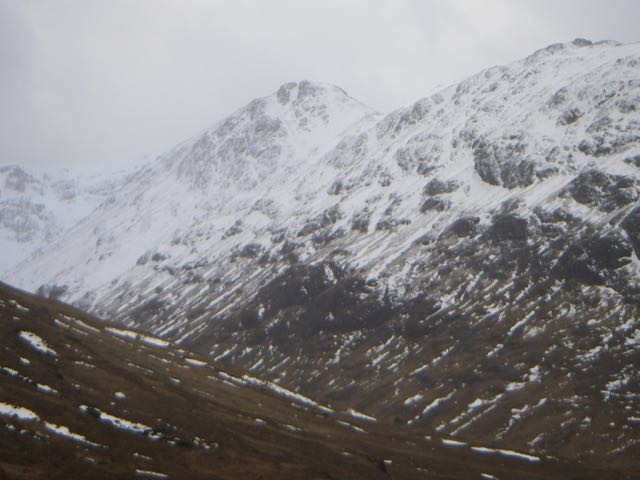 Easterly aspect of Stob Coire Sgreamhach