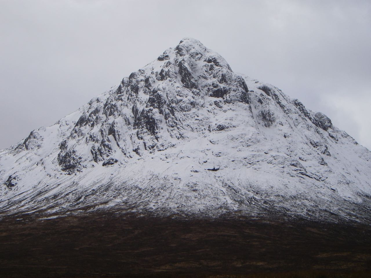 The Buachaille at mid-day