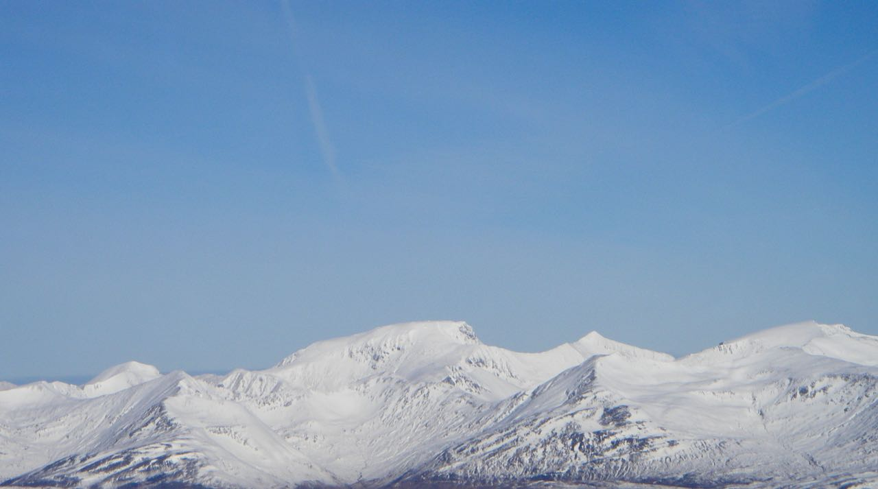 Ben Nevis and the Carn Mor Dearg