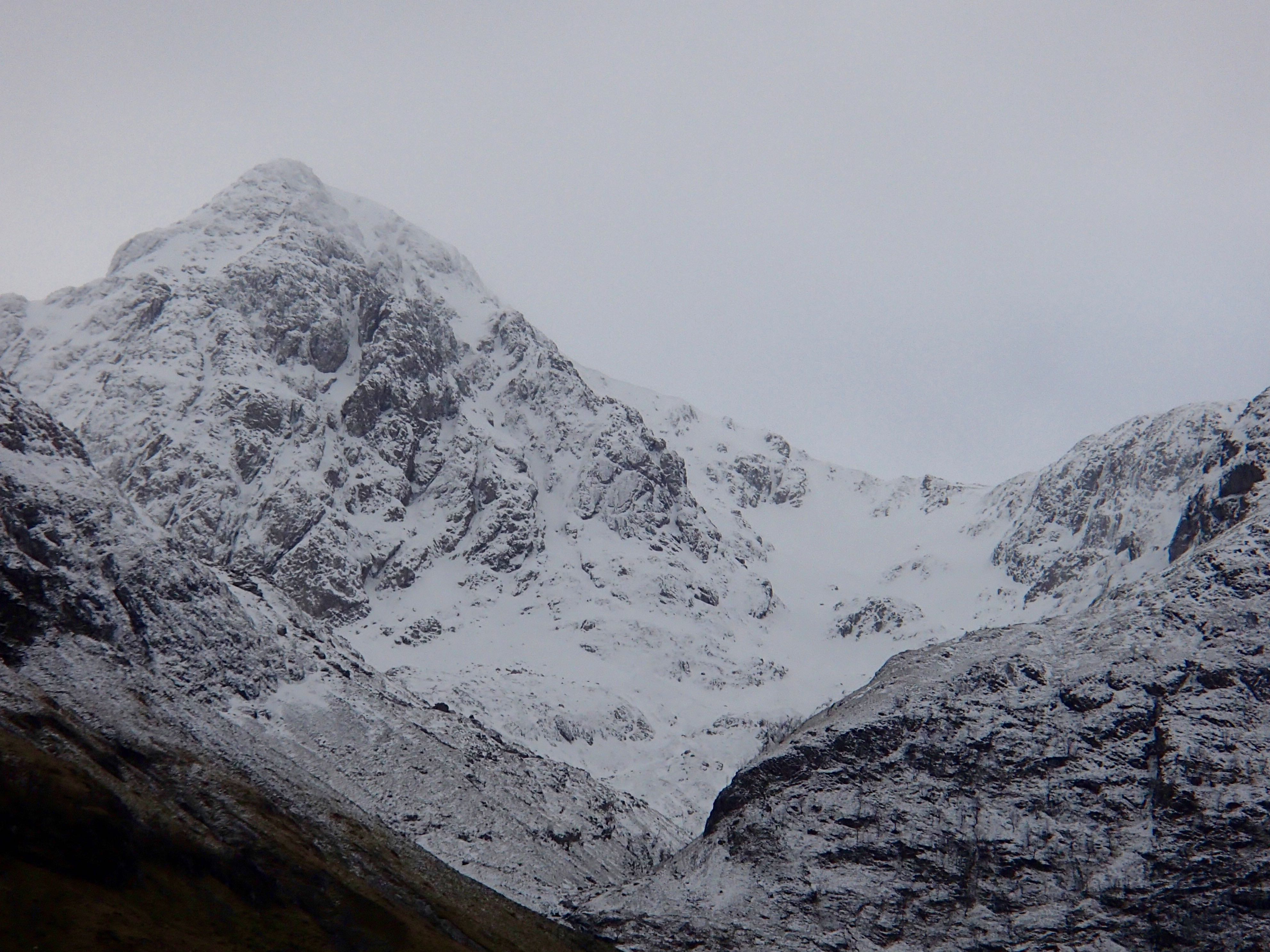 West summit of Stob Coire nam Beith