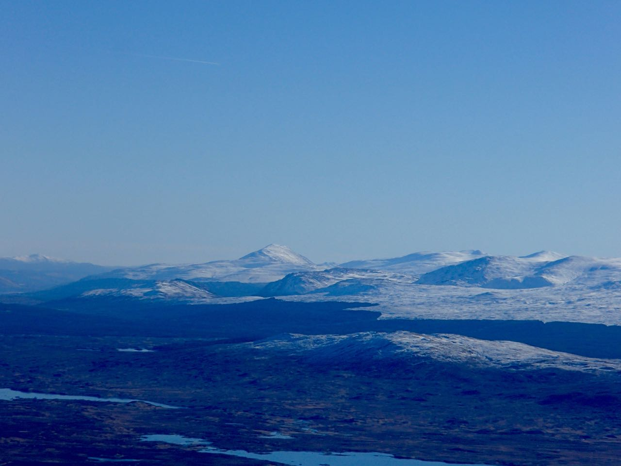 Rannoch Moor with Schiehallion in the distance. https://en.wikipedia.org/wiki/Schiehallion_experiment