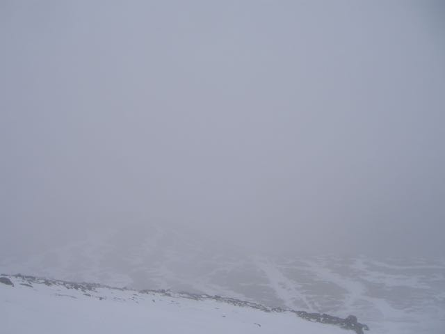 Poor visibility..... looking North.