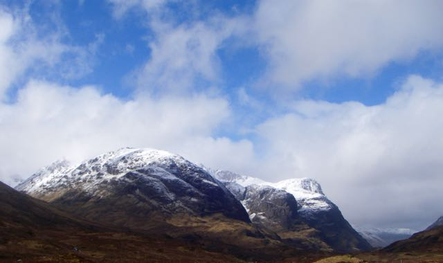 The 3 sisters of Glencoe