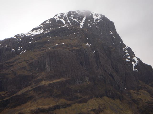 The bulky North-Eastern aspect of Aonach Dubh