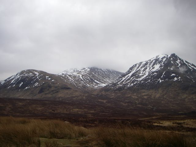 The North-Western aspect of Meall a Bhuiridh