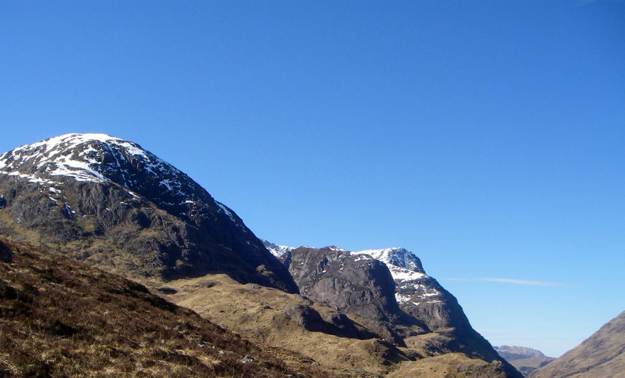 The 3 sisters of Glen Coe
