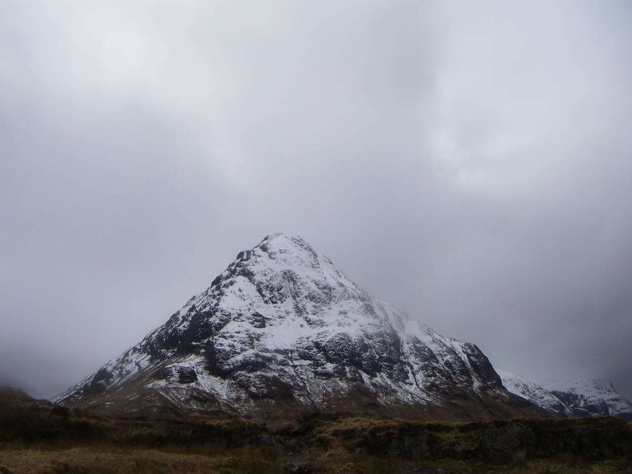 Stob nan Cabar, the 'Wee Buachaille' often overshadowed by its bigger neighbour