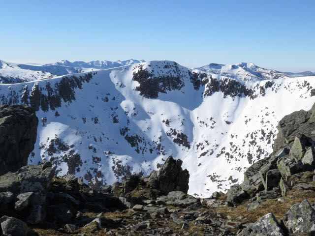 Looking West from Meall a Bhuiridh