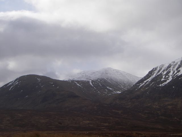 Meall a Bhuiridh 'refreshed' by last nights snowfall