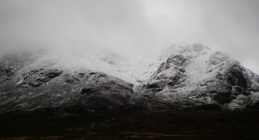 A mild day on Buachaille Etive Mor.