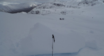 Avalanche activity noted in Stob Coire nan Lochan.
