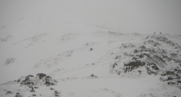 Fresh snow and strong winds