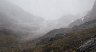 New snow on slopes above 800 metres.