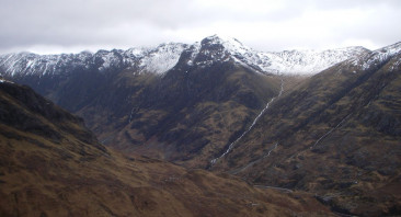 A mild day in Glen Coe