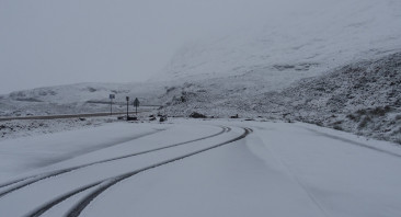 Snow to low levels